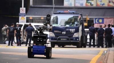 MALAYSIA-CRIME-EXPLOSION-GRENADE