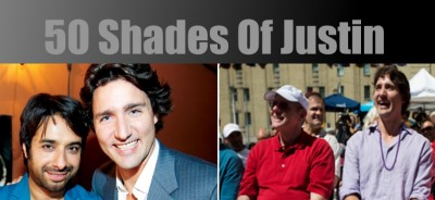 50 shades of justin trudeau