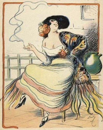 Carmen_-_illustration_by_Luc_for_Journal_Amusant_1875