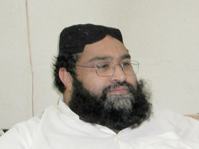 Pakistan Ulema Council Chairman Hafiz Muhammad 'Doughboy' Tahir Ashrafi
