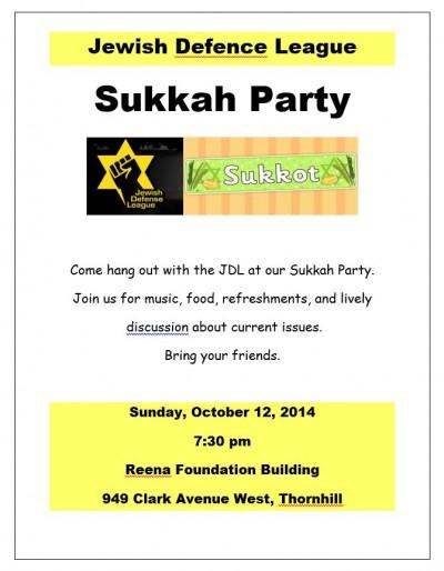 JDL Sukkah Party