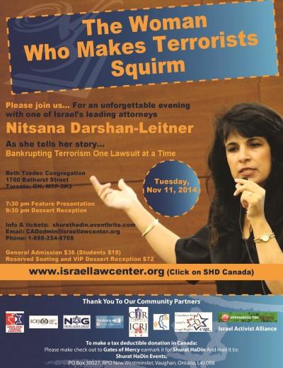 Nitsana Darshan-Leitner Flyer