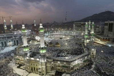 The annual hajj in Mecca on Sept. 27. Credit Muhammad Hamed/Reuters