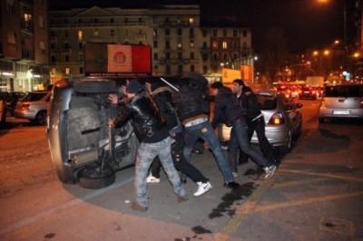 Milano - ragazzo egiziano di 17 anni ucciso a coltellate in via padova - scoppia la rivolta in via padova