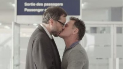 In 2013, the Parti Québécois government launched an online, radio and television campaign showing LGBT people and couples in every day situations. (Government of Quebec / YouTube)