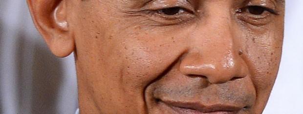 Obama smirk