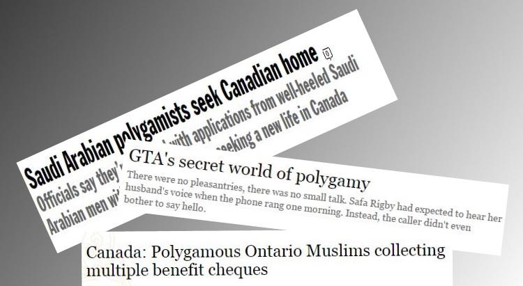 muslim polygamy Canada
