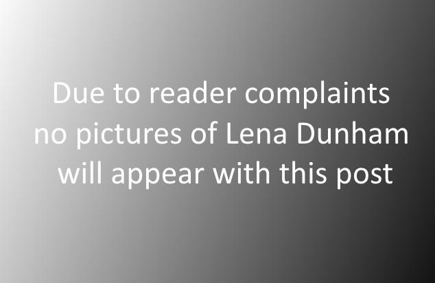 Lena Dunham not pictured