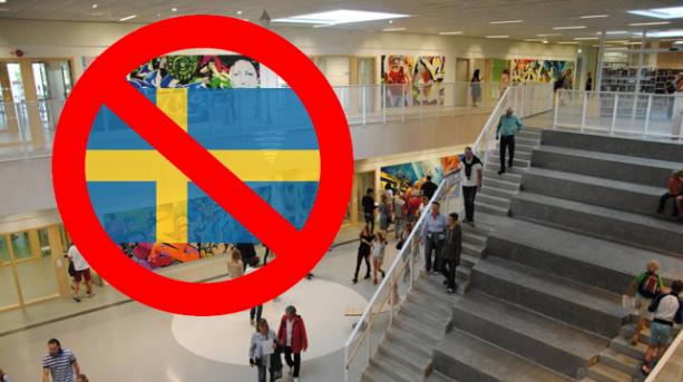 Swedish-flag-ban