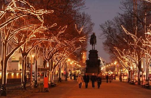 Lichterglanz Unter den Linden