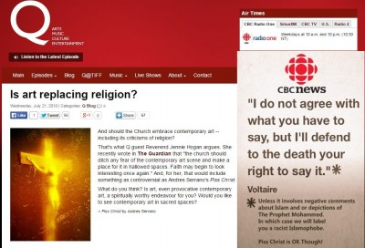 CBC  Piss Christ