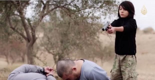 Muslim child executioner
