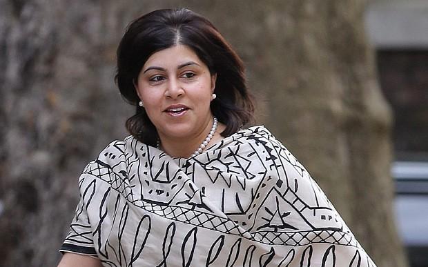 Baroness Warsi Muslim traitor to Great Britain