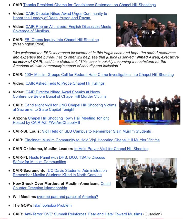 CAIR-Newsletter