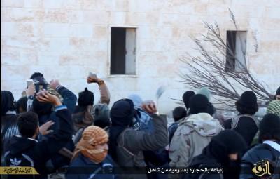 ISIS Stones Homosexual