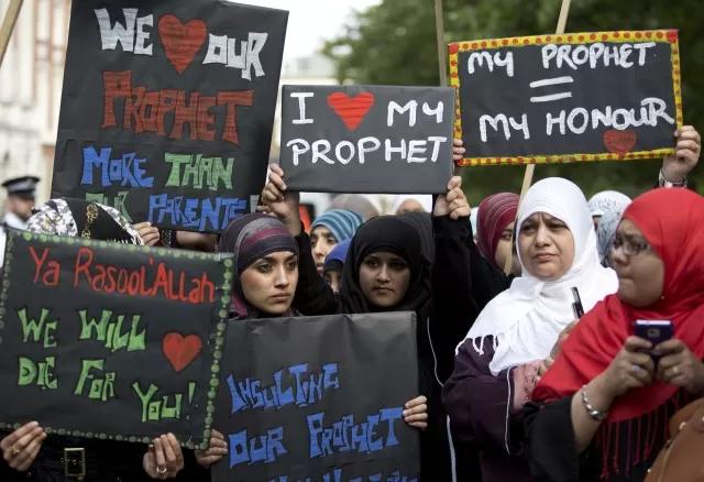 IslamicBritain-MuslimProtest