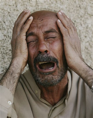 crying muslim