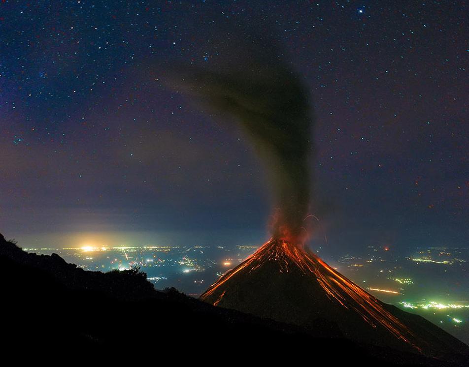 Volcano-stars