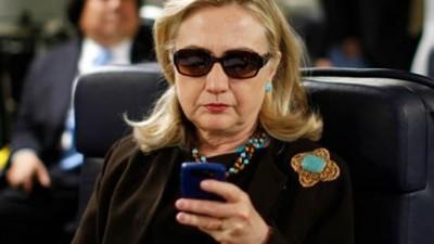 hillary clinton cellphone