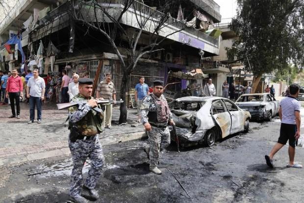 Baghdad car bombing