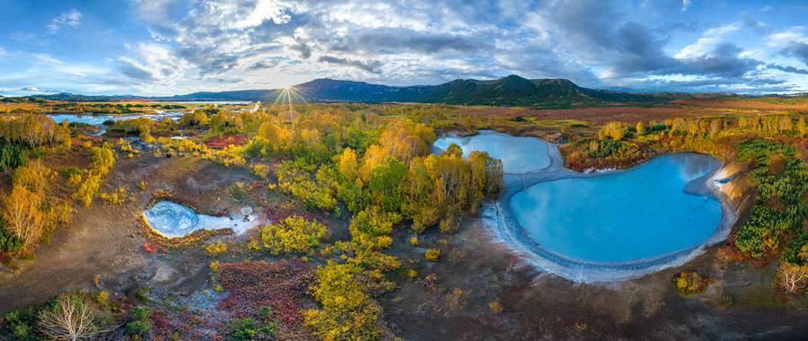 Caldera-Kamchatka