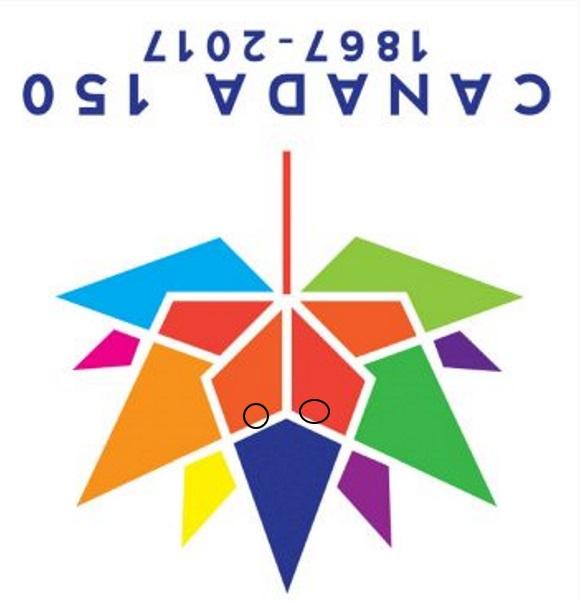 Canada 150 winning-logo jet