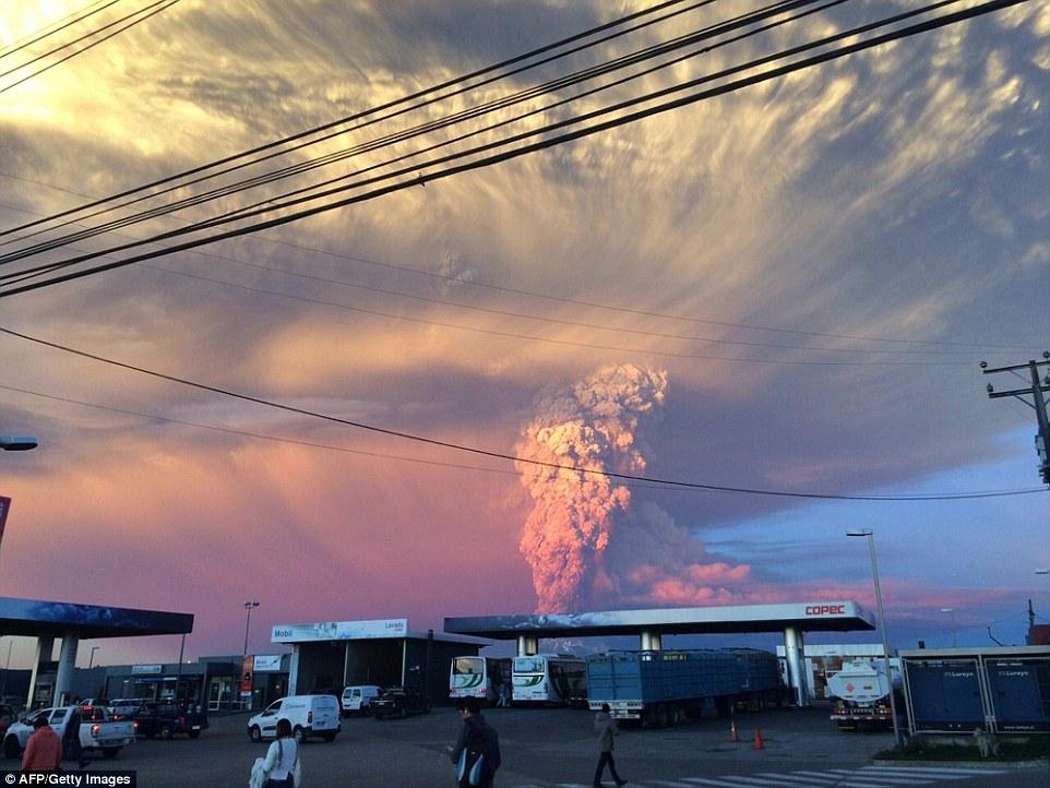 Chile Volcanoe 2