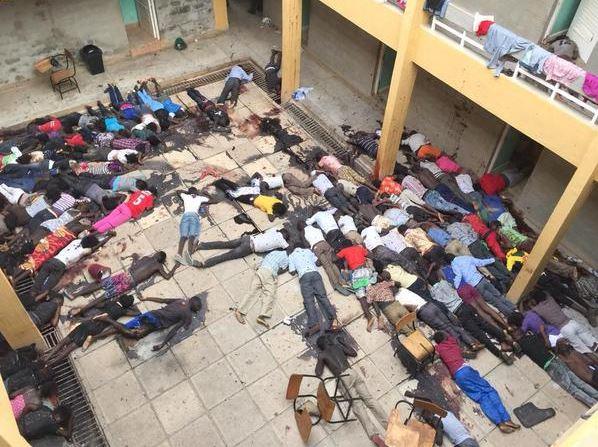 Garissa university dead
