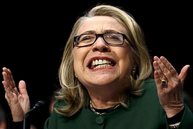 Hillary Clinton Whacked