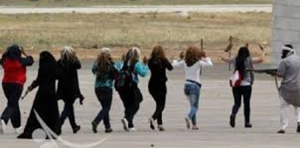 ISIS kidnaps women