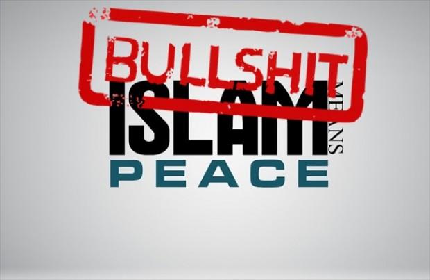 Islam means peace - bullshit