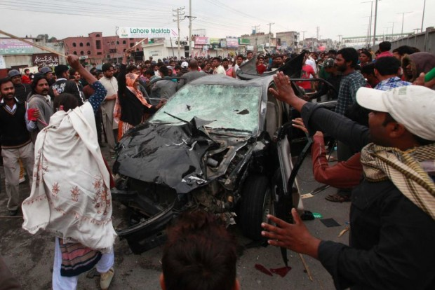 Lahore church bombings Pakistan