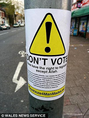 Muslims warned not to vote