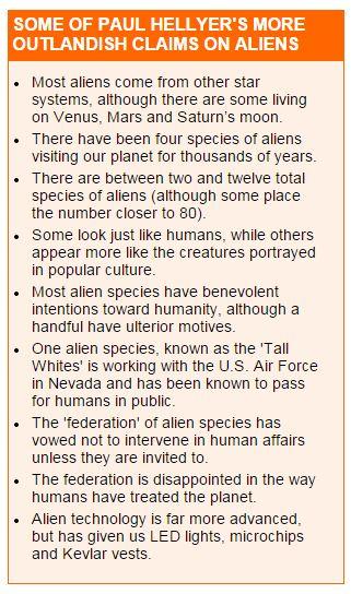 Paul Helyer UFO Enthusiast