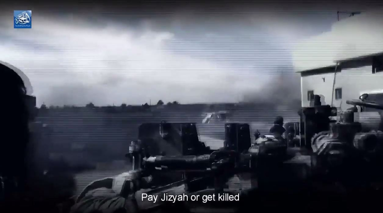 Pay Jizyah or get killed