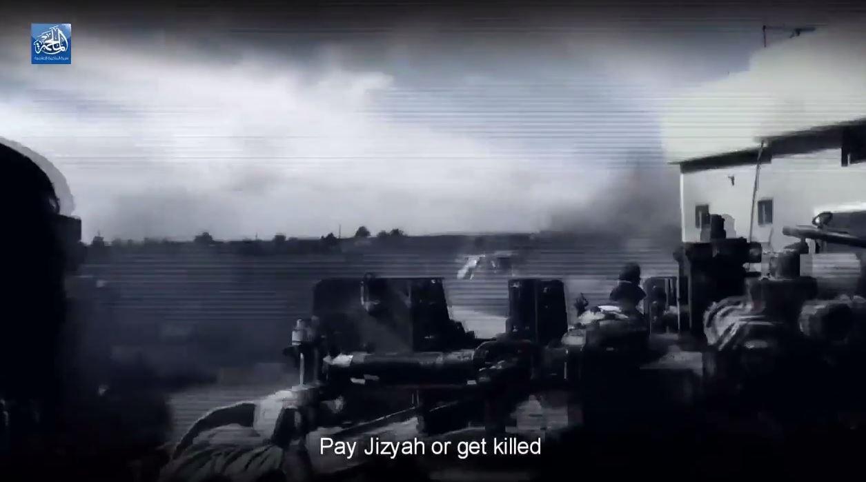 Pay Jizyah or get killed
