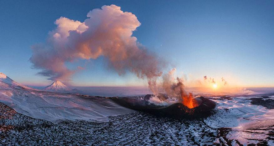 Russia-Volcano