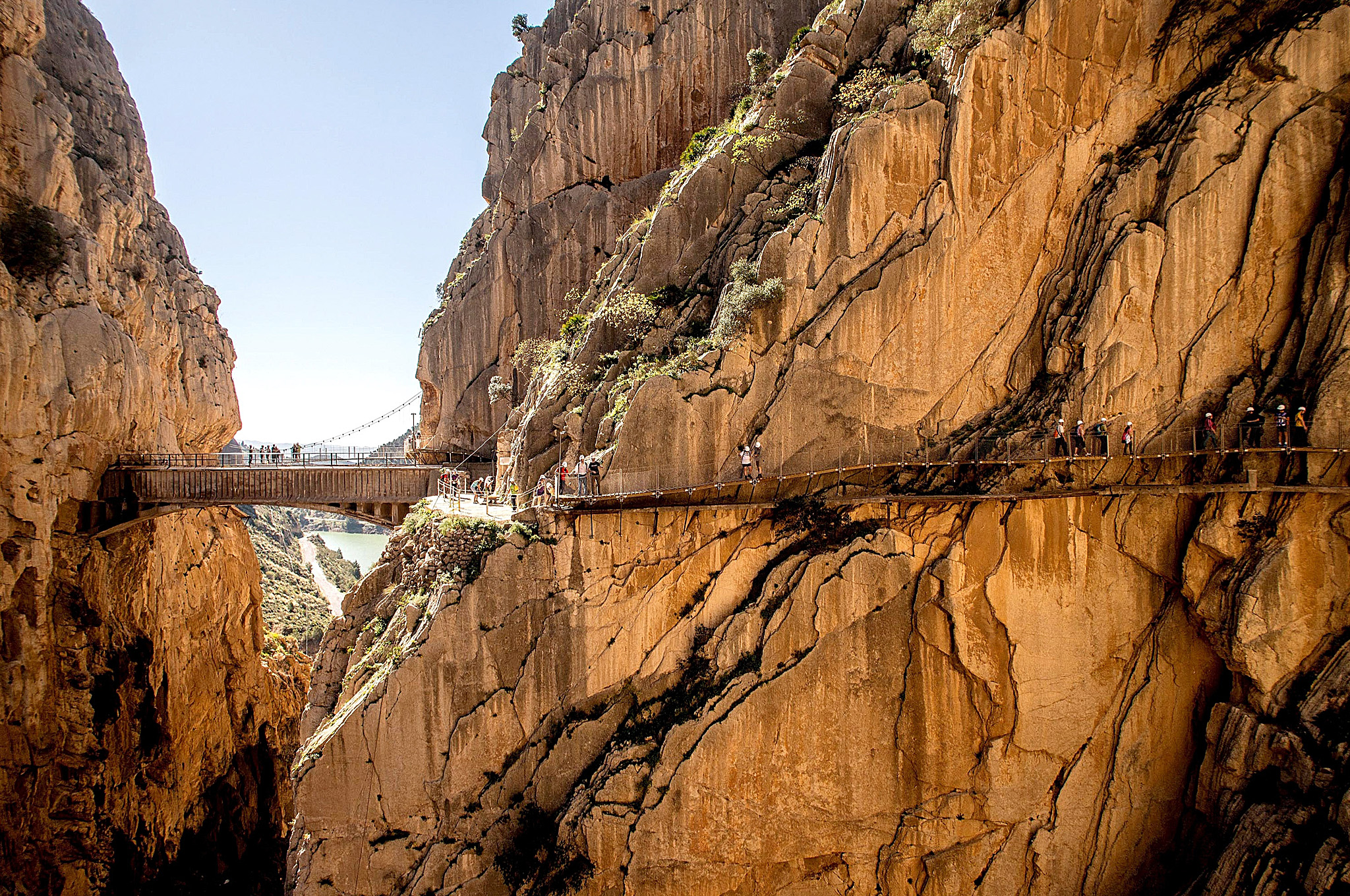 ***BESTPIX*** World's Most Dangerous Footpath Set To Reopen In Spain