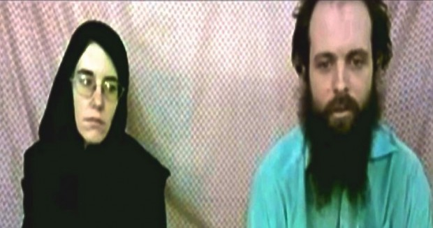 Taliban hostages cailtlin coleman joshua boyle