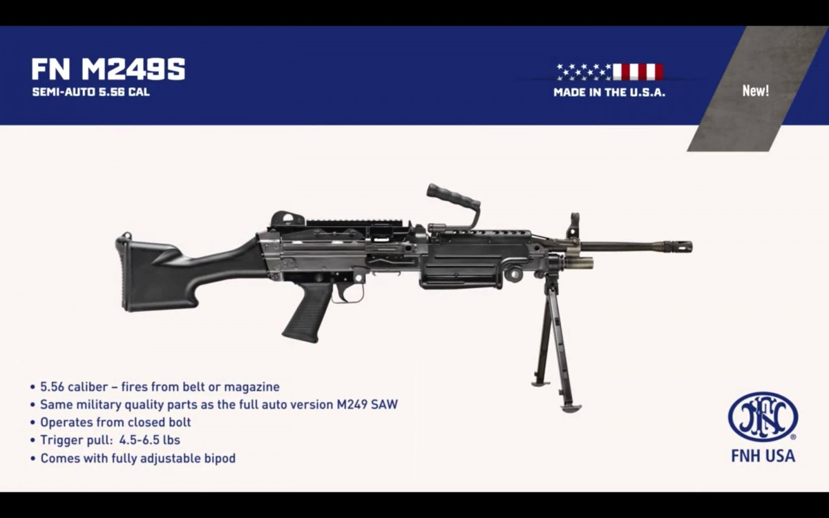 M249S S.A.W. - Squad Automatic Weapon