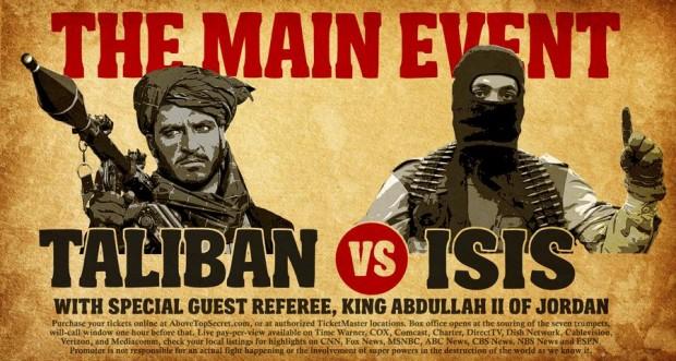 isis versus taliban