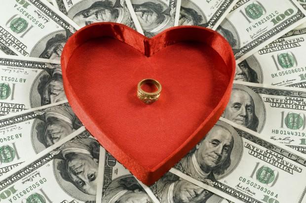 wedding + money