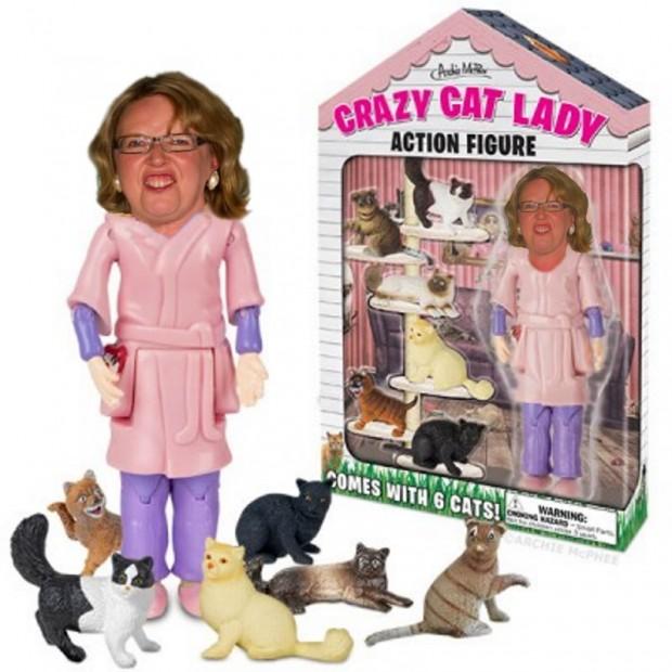 Elizabeth May crazy cat lady