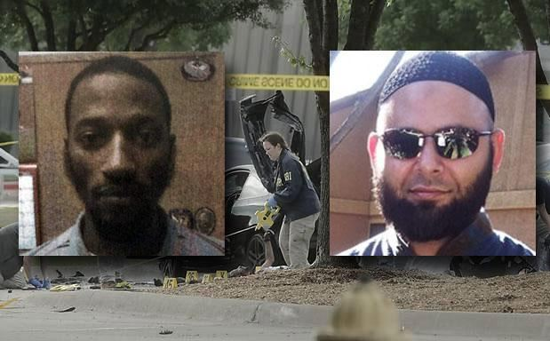 Elton Simpson and Nadir Soofi muslim terrorists Garland Attack