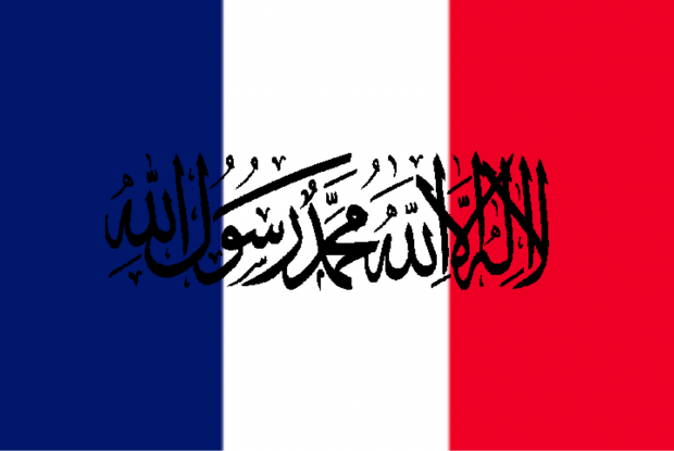 French-flag-shahada