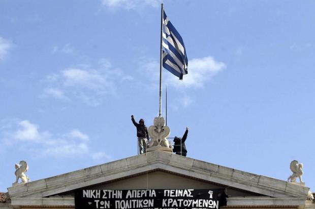 Greece-leftist-protesters