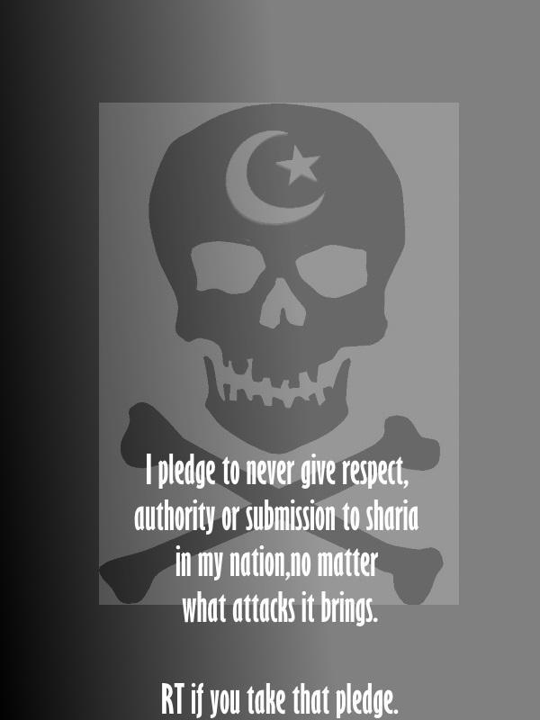 Islam pledge