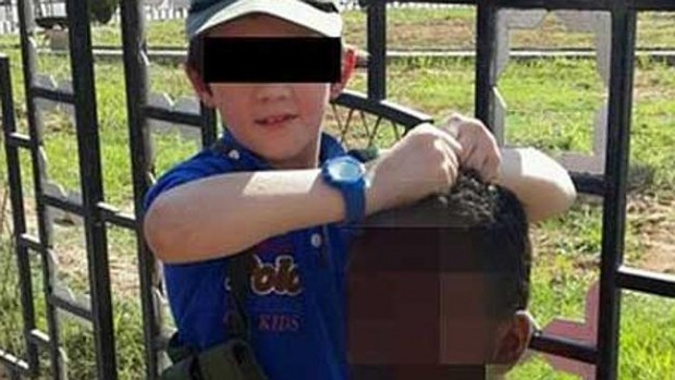 Khaled Sharrouf's  son and severed head