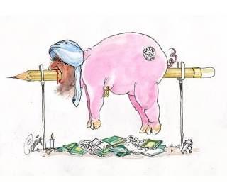 Larry-Pickering-Mohammed-pig