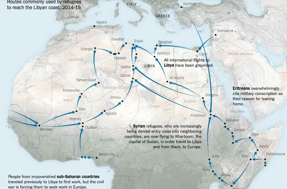 Migrant-chart-Europe-routes